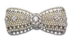 SEED PEARL AND DIAMOND BROOCH, CARTIER, CIRCA 1910 - Sotheby's