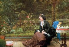 George Dunlop Leslie, Five o'Clock Tea.