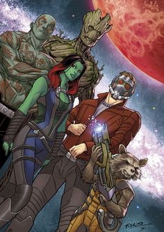 Guardians of the Galaxy - Marcio Fiorito