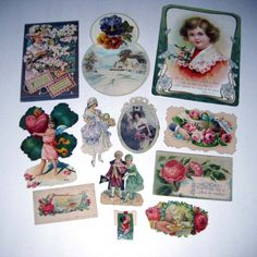 Vintage Assortment of Victorian Ephemera by grandmothersattic, $9.95