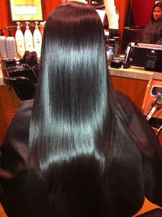 Brazilian Blow Out, I love it. Wash and go, removes frizz and makes hair look and feel very smooth and healthy.