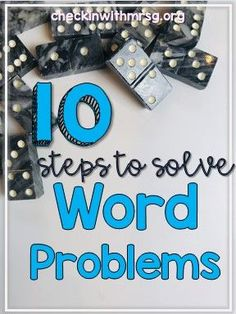 Teach your students to solve word problems using ten steps. Students will learn to break apart any word problems and solve using ten steps. Life Skills Classroom, Teaching Social Skills, Teaching Language Arts, Math Fractions, Multiplication, Maths, Elementary Math, Upper Elementary, Teaching Special Education