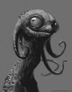 snakeyjames by Brent Hollowell -- this looks like a pest living on the ship they always see but can never catch lol