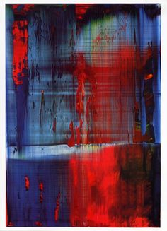 Gerhard Richter -  Go ahead and knock it, but I have some serious color lust for his paintings.
