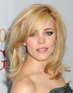 Rachel McAdams Hair Cut for Medium Length Hair