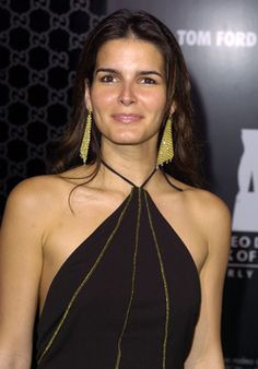 Angie Harmon at Tom Ford's celebration.