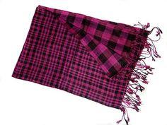 viscose self man scarf