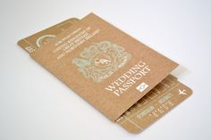 // Wedding passport travel stationery collection // Designed in colours to match your wedding, these folded passport invitations with matching rsvp boarding passes are a perfect way to let you guests know about your wedding either home or abroad. Other matching stationery available By Grace and Bramble at rivervale barn