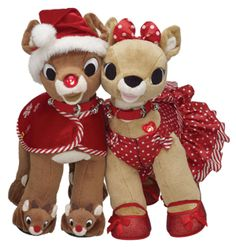Get your child into the spirit of the holiday season with an adorable new friend from Build-A-Bear Workshop. Stroll into the location near you or visit online and pick up a 50th-anniversary edition of Rudolph the Red-Nosed Reindeer, or a new Olaf, Elsa, or Anna Bear in honor of the animated hit, Frozen. www.buildabear.com