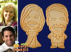 Personalized Wedding Favors by Parker's Crazy Cookies