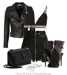 19 Super Ideas For Fitness Fashion Outfits Giuseppe Zanotti Stage Outfits, Edgy Outfits, Grunge Outfits, Pretty Outfits, Fashion Outfits, Pretty Clothes, Bad Girl Outfits, Club Outfits For Women, Look Fashion