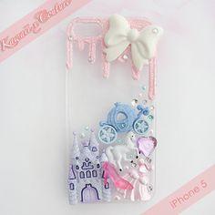 Sugar Princess iPhone 5 Decoden Case   $15.00    SHOP: www.etsy.com/shop/kawaiixcoutureHandmade decoden phone cases, jewelry, & accessories ♡