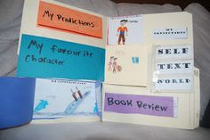 Thinking of Teaching...literature response portfolio