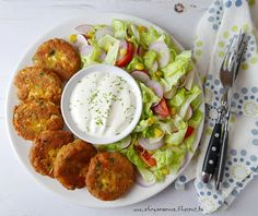 Cooking Recipes, Healthy Recipes, Health Eating, Recipes From Heaven, Falafel, No Cook Meals, Feta, Cake Recipes, Healthy Lifestyle