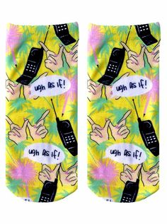"""""""As IF!"""" Socks http://shop.nylon.com/collections/whats-new/products/as-if-socks #NYLONshop"""