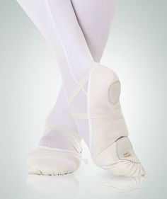 The Bodywrappers 246A Wendy by Angelo Luzio Total Stretch Canvas Ballet Shoe is made of Antibacterial & Wicking Stretch Canvas to provide an anatomically cu