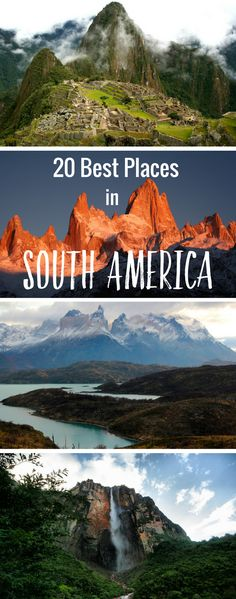 Planning a trip to South America? Here are 20 of the best places to visit in South America for your bucket list.