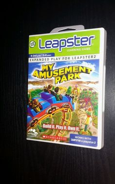 LEAPSTER MY AMUSEMENT PARK (Leapster 2) K-2ND, 5-8 YEARS #LeapsterLeapfrog