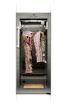 DRY AGER® – the Original! Dry Aging fridge & refrigerator - Made in Germany. The Dry Aging cabinet for beef, pork, charcuterie and cheese. Order now the real Dry-Aging solution online! Meat Butcher, Butcher Shop, Dry Aged Beef, Red Dot Design, Beef Steak, Cabinet, Modern, Shopping, Kitchen Ideas