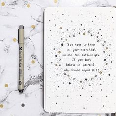12 Quote Layouts for Your Bullet Journal + Inspirational Quotes | ElizabethJournals Self Care Bullet Journal, Bullet Journal Set Up, Bullet Journal Cover Page, Bullet Journal Themes, Bullet Journal Layout, Bullet Journal Inspiration, Journal Ideas, Bullet Journal Headers, Bullet Journal Quotes