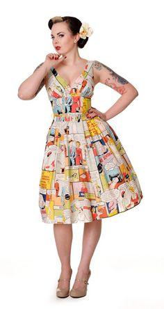 Comic Book Dress