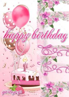 Best Happy Birthday Wishes giortazo Make someone's birthday more special Pics And Gifs Happy Birthday Greetings Friends, Happy Birthday Son, Happy Birthday Pictures, Birthday Wishes Cards, Happy Birthday Messages, Birthday Quotes, Useful Life Hacks, My Favorite Color, Baguette