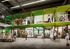 shipping container mall | ... Up for Renovation into NYC's Premier Shipping Container Anti-Mall