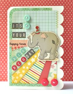 LOVE this card...never could resist an elephant