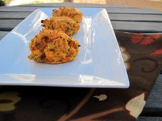 Thanksgiving Side Dish: Bacon and Chive Sweet Potato Biscuits  These were good!  Used almond flour instead of coconut flour. Might have to use 1 1/4cup almond flour instead of 3 T coconut flour.