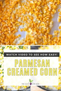 Easy Creamed Corn Recipe