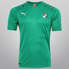 Camisa Puma Seleção Costa do Marfim Away 2014