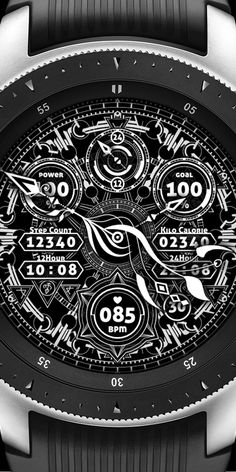 A brilliant border and connection of a Watchface Wearable Device, Watch Faces, Beautiful Watches, Turtles, Black, Stuff Stuff, Black People, Turtle, Tortoise Turtle