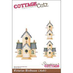 CottageCutz Die Victorian BirdhouseCottageCutz Die Victorian Birdhouse,