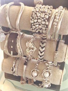 Top row, middle bracelet