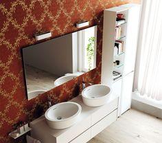 Mueble de baño de madera INSIDEOUT | Mobile contenitore - TEUCO