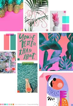 Moodboard...Tropical vibes!