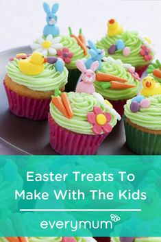 With Easter just around the corner, there's no time like the present to roll up your sleeves and treat your mini chefs to a fun baking session. Chirpy chick cupcakes, Chocolate Easter nests, Marzipan animals and more! Chocolate Easter Nests, Yellow Foods, Pastry Brushes, Mini Eggs, Golden Syrup, Homemade Butter, Vanilla Frosting, Cute Cupcakes, Easter Treats