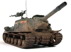 Isu 152, Eastern Front Ww2, Tank Destroyer, Model Tanks, Ww2 Tanks, Creative Outlet, Scale Models, Military Vehicles, Wwii