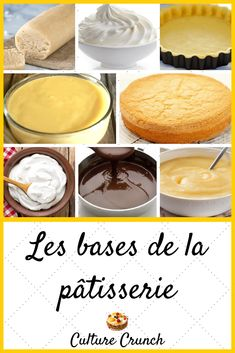 #culturecrunch #cuisinegourmets #cuisine #cooking #recettes #rezepte #recipe #recipes #desserts #dessert #dessertrecipes # gâteau #cakes #inspiration #sweettreats #pastry #patisserie Sweet Pastries, French Pastries, Quick Ground Turkey Recipes, Baking Recipes, Dessert Recipes, Desserts With Biscuits, Best Chocolate Cake, Christmas Desserts, Base