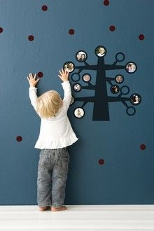 Family Tree Wall Sticker by ferm-living #Family_Tree #Wall_Sticker #ferm_living