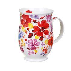 Dunoon Firenze Red Suffolk Shape Mug   Temptation Gifts