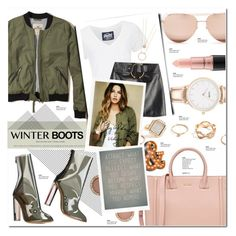 """""""#admire"""" by justlovedesign ❤ liked on Polyvore featuring Linda Farrow, Hollister Co., CLUSE, Michael Kors, Superdry, Kate Spade, Anthony Vaccarello, MAC Cosmetics, GUESS and Gianvito Rossi"""