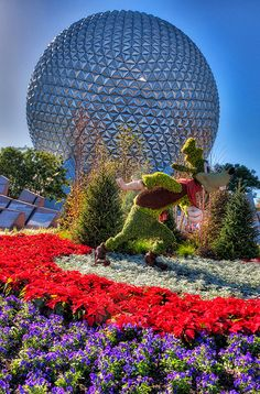 Goofy and Epcot Ball #Orlando, Florida Getaway at VIPsAccess.com #Luxury #Travel USA Today Joy Richard Preuss Horoscope