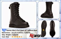 "Danner Men's Fort Lewis 10"" Uniform Boot 