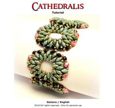 Tutorial Cathedralis Bracelet  Instant download PDF by FucsiaStyle, €3.50