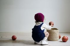I love knitted clothes on toddlers