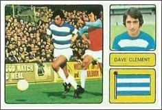 Dave Clement of QPR in 1973.