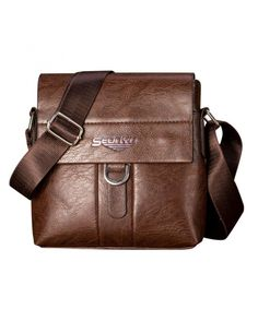 6dad5452a4f6 Womail Men Fashion Leather Shoulder Bag Satchel Cross Body For Boy (Dark  Brown) -