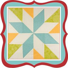 Fat Quarter Shop's Jolly Jabber: Wishes Quilt Along: Annie's Choice Block Sampler Quilts, Lap Quilts, Small Quilts, Mini Quilts, Half Square Triangle Quilts, Square Quilt, Quilt Block Patterns, Quilt Blocks, Mug Rug Tutorial