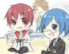 My favorite Nico Nico singers! <3   ~Faneru, Ask, Gero